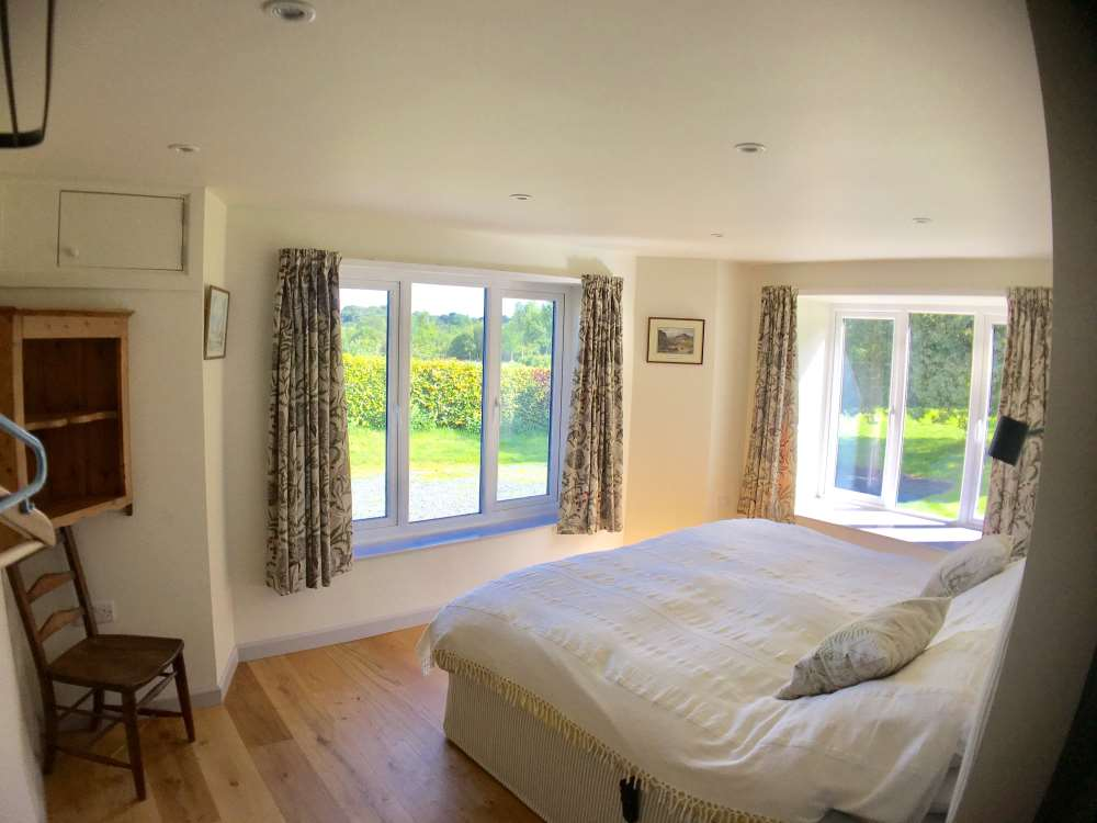 Inside Hendre - Accessible Bedroom 01.
