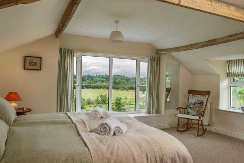 Inside Hendre - Master Bedroom.