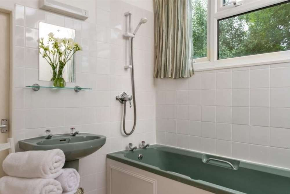 Inside Hendre - Second Double Room en-suite.