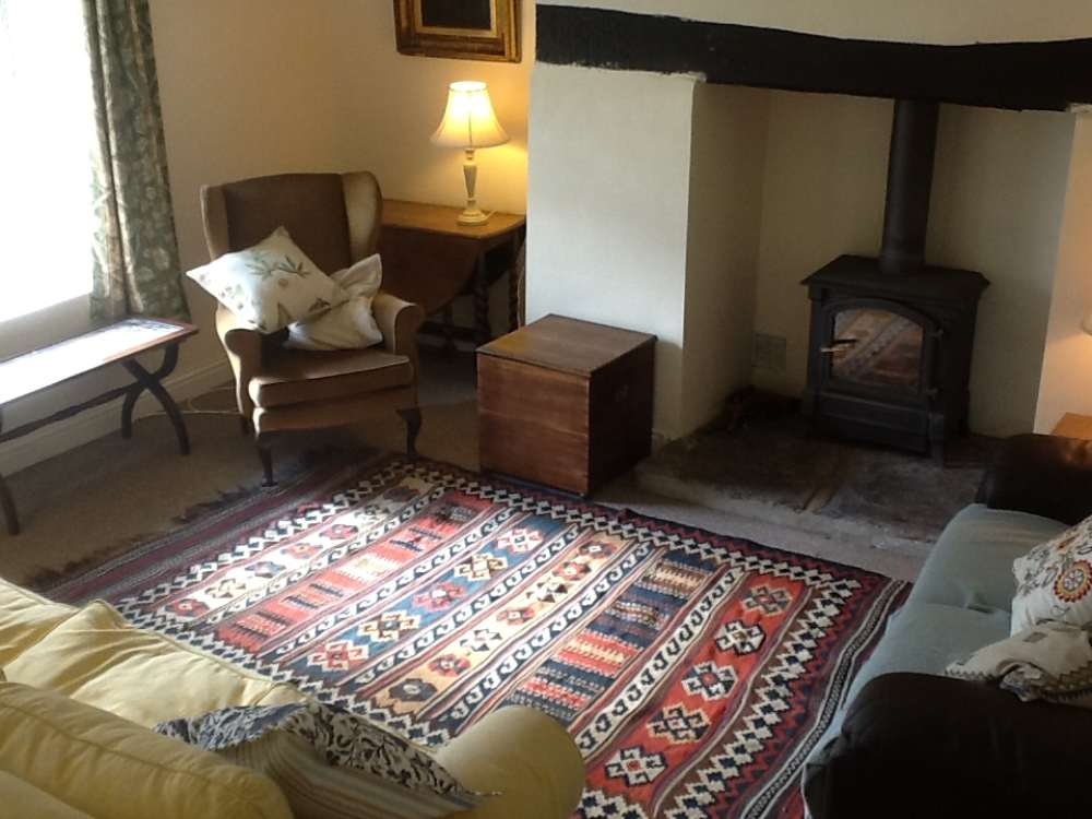Inside Hendre - Sitting Room.